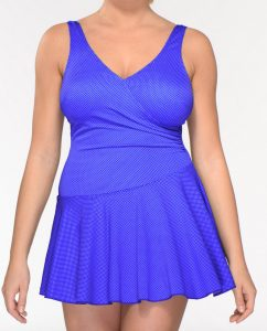 baddräkt med kjol